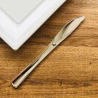 500 Couteaux type inox Reyclables - réutilisables.