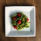 Assiettes biodégradables. Carrées 23 cm. Par 20