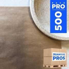 Sets de table papier kraft naturel 30x40 cm Par 500