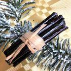 Pack 16 mini-fagots bois noir décoration de table