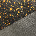 Nappe papier tendance lin noire ébène 5 mètres