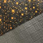 Nappe papier tendance lin noire ébène 25 mètres