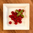 Pack 12 assiettes blanches 24cm + 12 assiettes gris argent 18cm