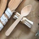 Pack 16 mini-fagots bois blanc décoration de table