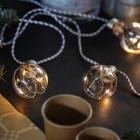 Guirlande lumineuse 3,60 m 10 ampoules LEDS