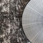 Chemin de table décor noir 5 mètres