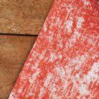 Pack chemin décor rouge + 40 serviettes soft grises