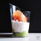 Verrine élégance cristal 9cl Recyclable - réutilisable Par 15