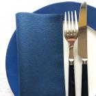 Serviette en non-tissé bleu marine 40 x 40cm