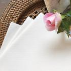 Serviette en non-tissé blanche 40 x 40cm