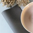Serviette en non-tissé gris titane 40 x 40cm