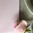 Serviette en non-tissé rose poudre 40 x 40cm
