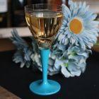 Pack 100 verres turquoise Lavables - réutilisables