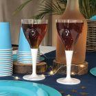 Pack 100 verres blancs Lavables - réutilisables