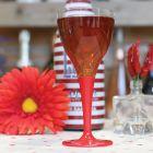 Pack 100 verres rouges Lavables - réutilsables