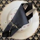 Guirlande de table or décorative 3 mètres.