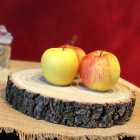 Rondin centre de table luxe bois massif 26cm/4cm