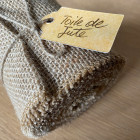 Ruban de table jute naturel 5 mètres