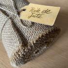 Pack chemin de table + ruban 5m jute naturelle