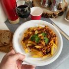 Assiette chaleur plate 21cm. Recyclable - Réutilisable. Par 50