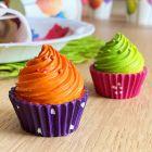 Set décoration de table cupcakes pistache-mangue