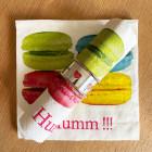 Serviettes papier macaron 33 cm x 33 cm. Par 20