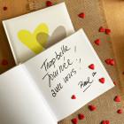 Confettis de table coeur Rouges