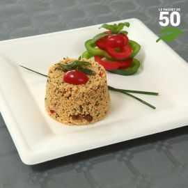 Assiette biodégradable carrée 26 cm. Par 50.