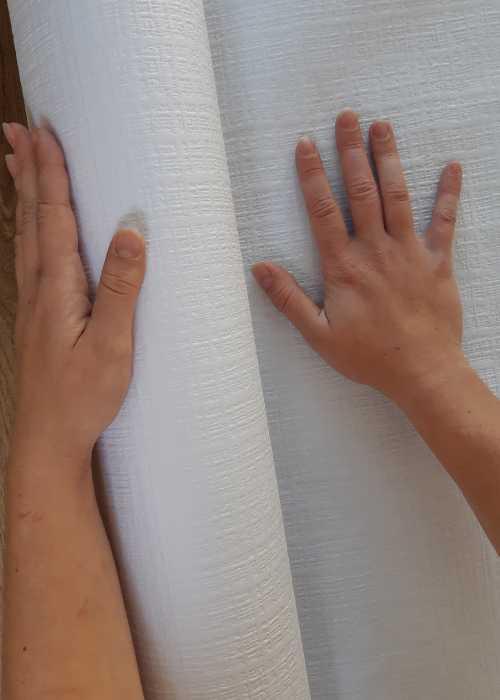 nappe toile de lin blanche vaisselle jetable discount. Black Bedroom Furniture Sets. Home Design Ideas
