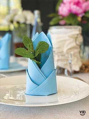 Pliage De Serviette Simple Pour Une Deco D Assiette Vaisselle Jetable Discount