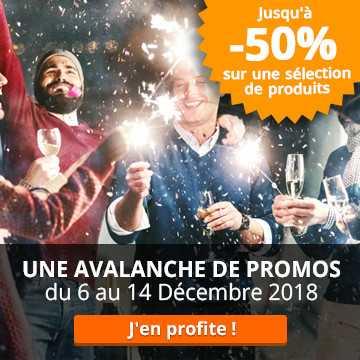 -50% sur la sélection Noël