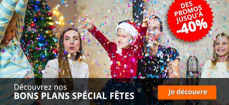 bons plans spécial fêtes