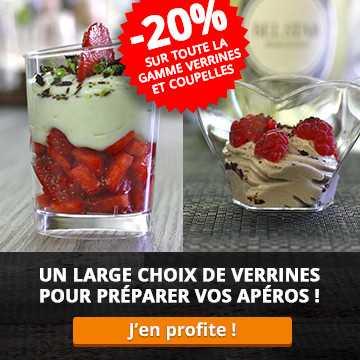 -20% sur la gamme verrines