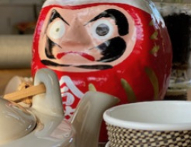 Attention, mon Daruma me regarde !